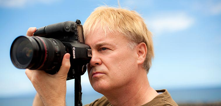 Gordon Chesterman, Photographer/Digital Technician/Timelapse Specialist